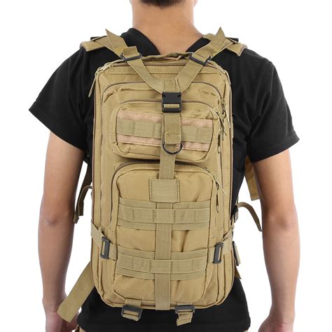 Tas Ransel Tentara Army Camouflage Travel Hiking Bag 24l T0210 1 9 color unisex outdoor army tactical backpack