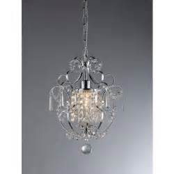 Home Depot Chandeliers Crystal Warehouse Of Tiffany Veronica 1 Light Silver Crystal