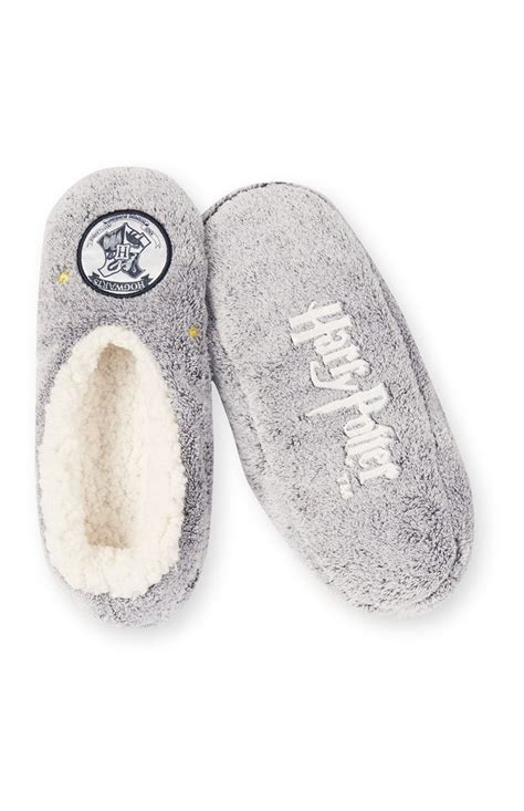 primark slippers primark grijze harry potter pantoffels wishlist