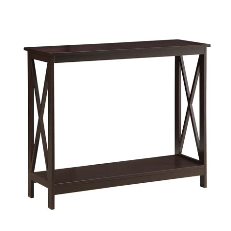 Sofa Tables On Sale Convenience Concepts Oxford Espresso Console Table On Sale