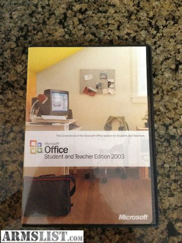 Cd Microsoft Office Original armslist for sale trade reduced microsoft office student and edition 2003 with
