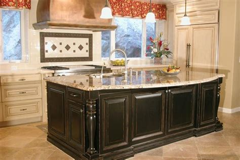 Custom Built Kitchen Island Homeofficedecoration Custom Kitchen Islands For Sale