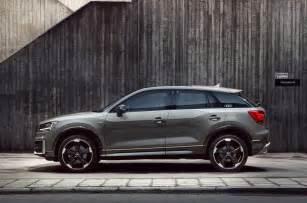 Q2 Audi Audi Q2 Edition 1 Limited Run Model On Sale This