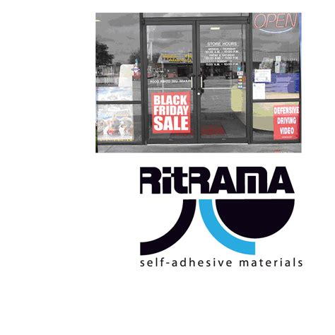 Sticker Ritrama Outdoor M2 ritrama 4 0260 clear cling results page 1 wensco sign supply