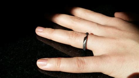 how to carve an engagement ring from a meteorite others