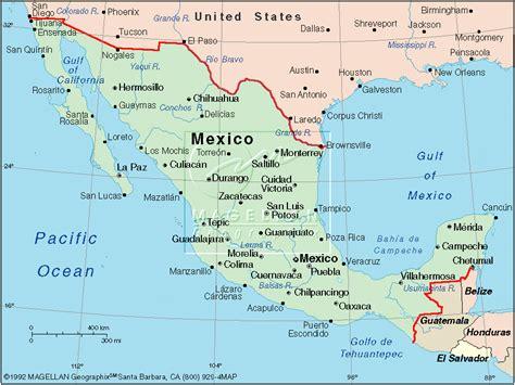 the mexico map mexico