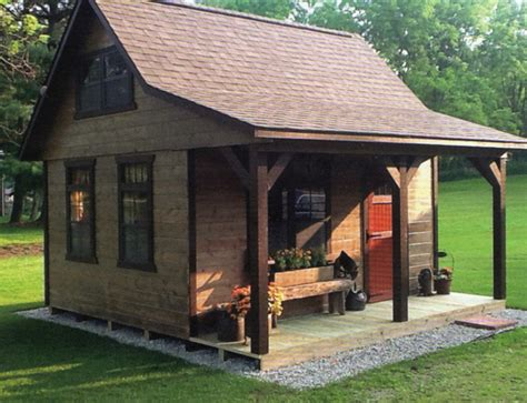 10x12 Cabin by A Frame Cabin Style