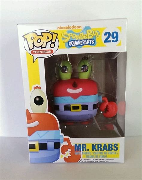 Funko Pop Spongebob Mr Krabs funko pop television spongebob squarepants 29 mr krabs vinyl figure bob esponja