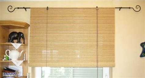 Extra Large Window Blinds Made To Measure Bamboo Blinds In The Uk