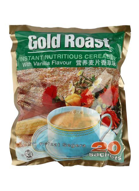 Instant Cereal Chocolate gold roast instant cereal vanilla pck 20x30g klikindomaret