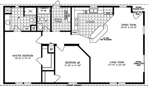1200 Square Foot House Plans | 1200 to 1399 sq ft manufactured home floor plans