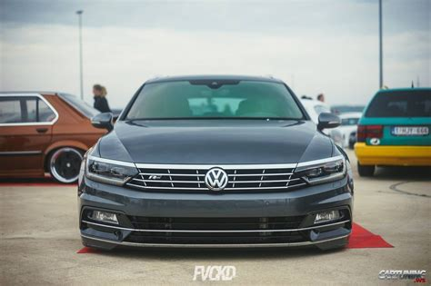 stanced volkswagen passat stanced volkswagen passat variant b8 front
