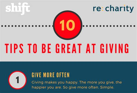 10 Tips To Help You Be A Great Hostess by 10 Tips To Be Great At Giving Infographic Re Charity