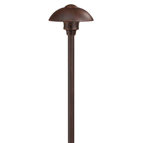 Low Voltage Lighting Outdoor Hinkley Lighting Low Voltage 12 Watt Southern Clay Outdoor Ellipse Path Light 8544sc The Home