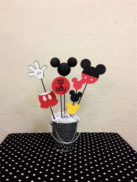 Baby Shower Decorations Mickey Mouse mickey mouse baby shower centerpiece it s a boy
