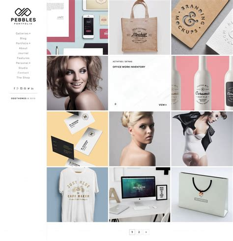 best 2016 photography blogger templates blog free