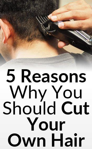 5 Reasons Why You Should Cut Your Own Hair Mens Style Guide | 5 reasons why you should cut your own hair