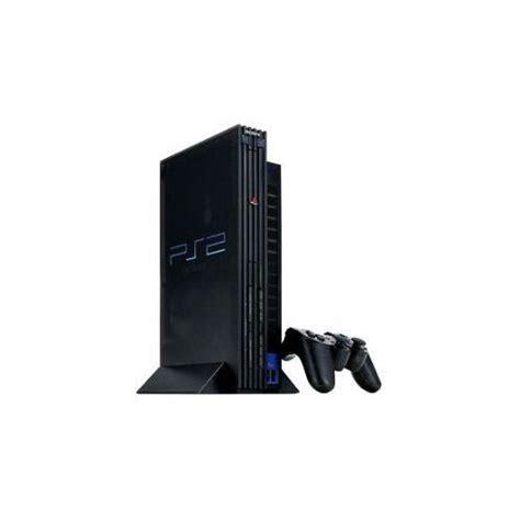 console sony sony playstation 2 console de jeux noir pas cher