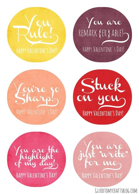 printable valentine tags for teachers 5 best images of teacher valentine printable from gift tag
