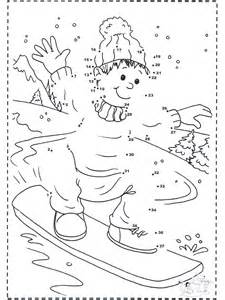 winter color by number winter color by number worksheets az coloring pages