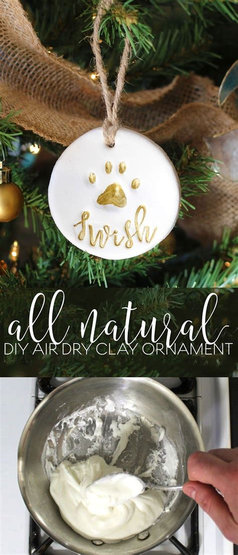 pet gift basket  personalized  natural diy air dry