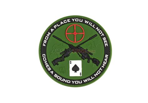 Patch Rubber Patch My Ak sniper rubber patch forest jtg rubber patches patches equipment airsoftzone at shop