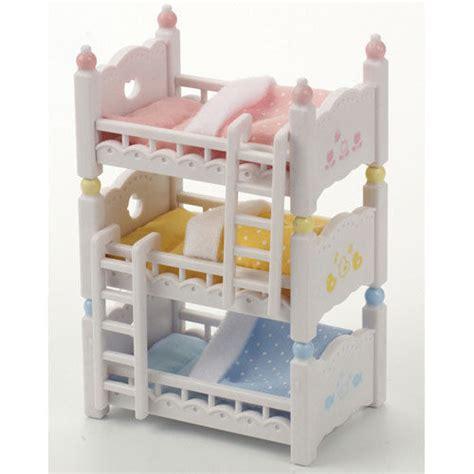 Bunk Beds Ebay Sylvanian Families Bunk Beds Dolls Furniture 4448 Ebay