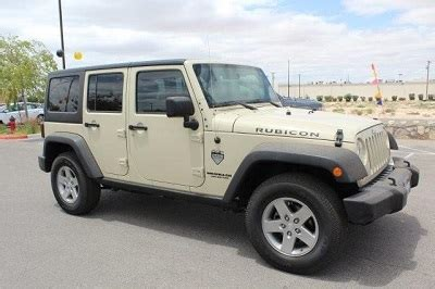 jeep dealer el paso the 2012 jeep wrangler unlimited rubicon suv from dealers