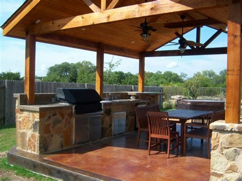 best covered wood patio structures back yard ideas