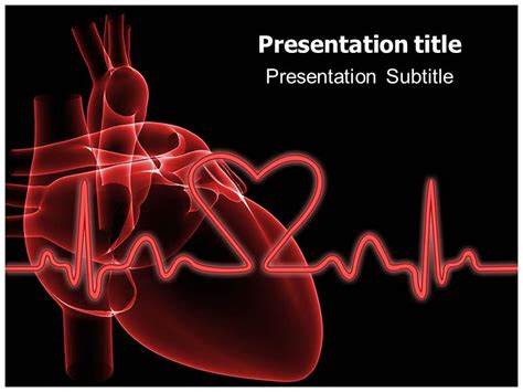Cardiac Ppt Template Best Business Template Cardiology Powerpoint Template