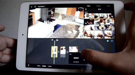 tutorial imovie ipad mini imovie in ios 7 new updated look ipad mini youtube