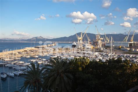 palermo cruise port port of palermo stock photos freeimages
