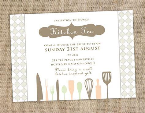 kitchen tea party invitation ideas best 25 kitchen tea invitations ideas on pinterest