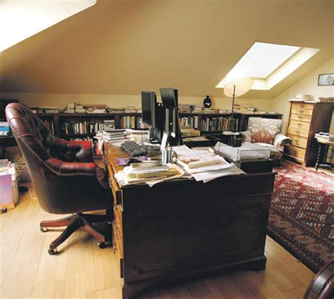 writing room writer s rooms clive books the guardian