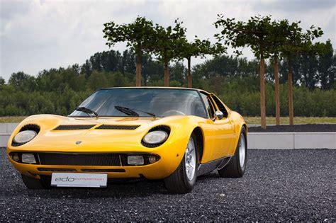How Owns Lamborghini Leno Garage 1967 Lamborghini Miura P400 Jay Leno 1967