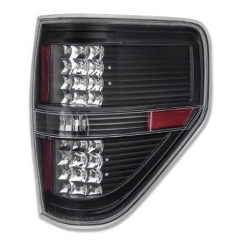 2009 f150 tail light ford f150 2009 2014 led tail lights black clear