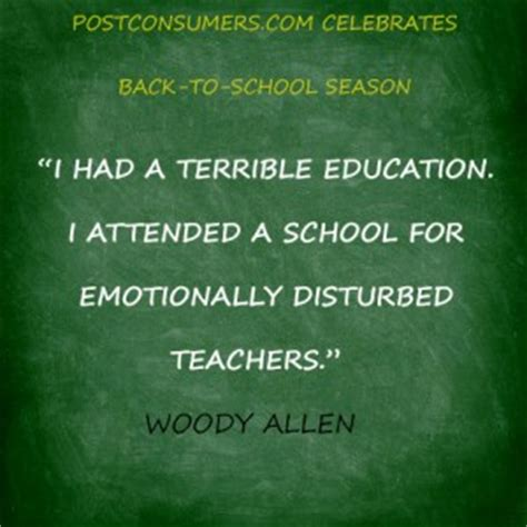 Quotes About Returning To School
