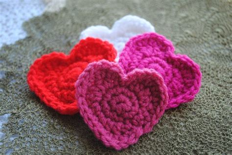 free crochet heart pattern video free crochet heart pattern