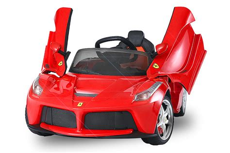 Kinder Auto Zum Fahren by Menila Gmbh Lizenz Kinder Elektro Auto Ferrari Laferrari