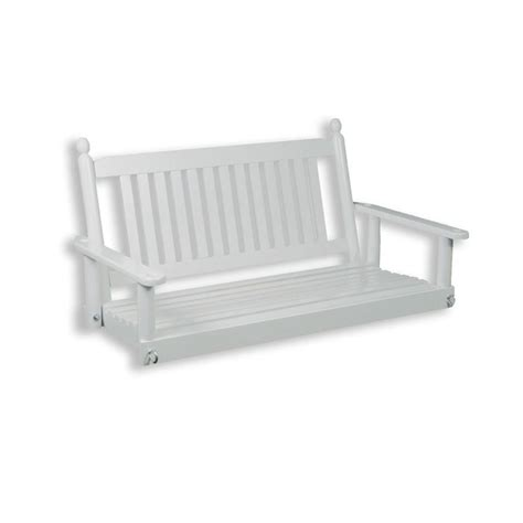 porch swing home depot home depot outdoor swings porch swing white rta 4