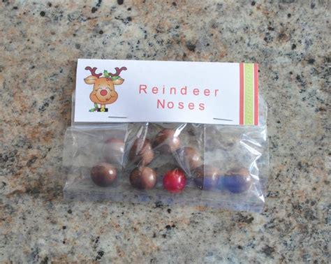 treat bag ideas treat bag ideas reindeer noses kid stuff
