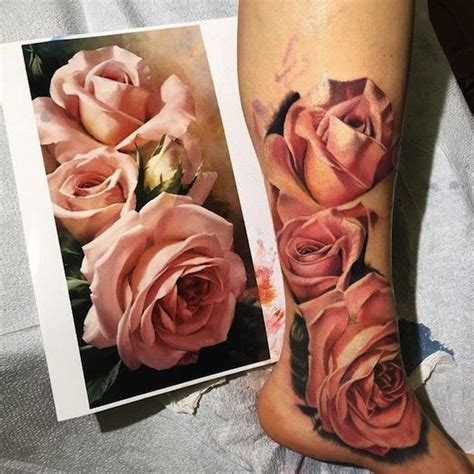 how to tattoo a realistic rose 25 best ideas about realistic on