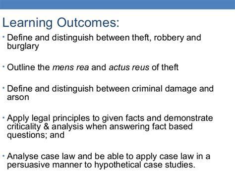 gbh section 18 cases lecture 9 offences against property 1