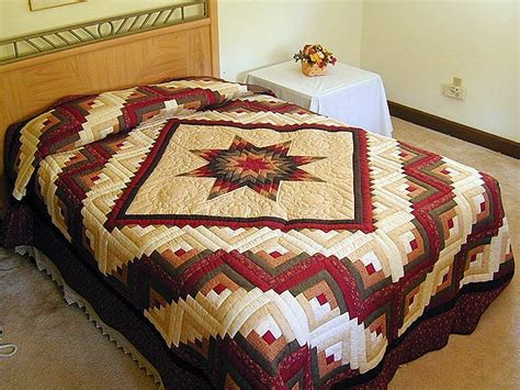 Lone Log Cabin Quilt Pattern by Lone Log Cabin Quilt Superb Smartly Made Amish