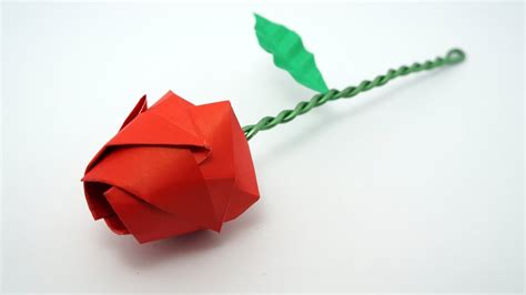 tutorial origami rosa italiano origami rose tutorial davor vinko youtube
