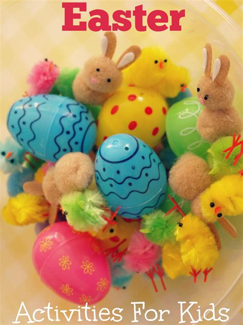 easter ideas for kids easter activities for kids here come the girls