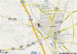 map of courtyard by marriott valdosta valdosta