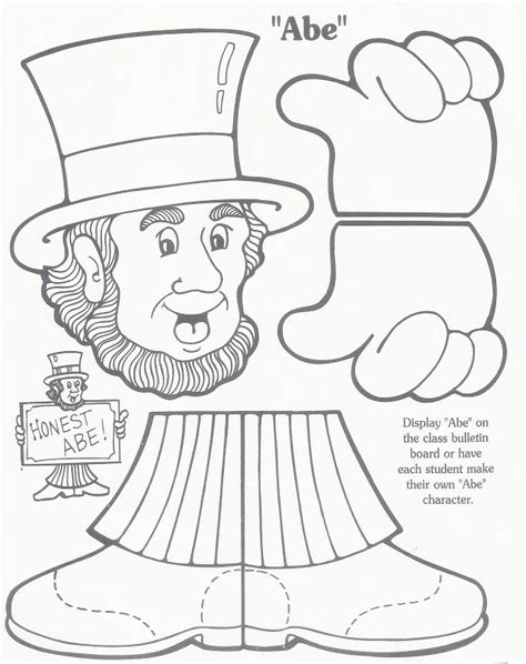presidents day coloring pages preschool coloring pages for presidents day