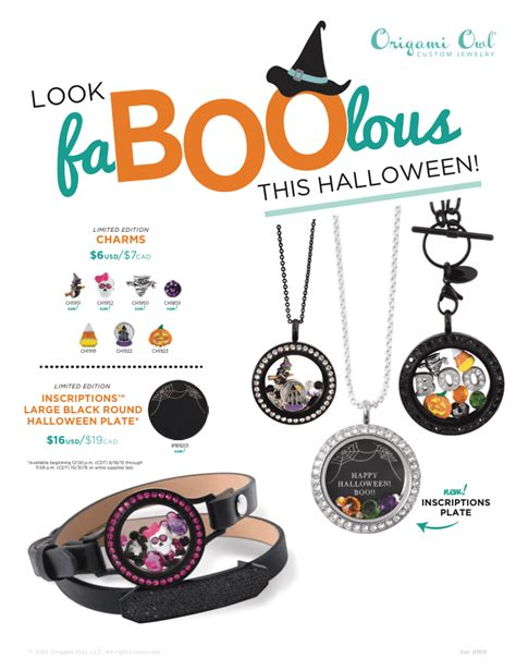 Origami Owl Fall - trick or treat with origami owl s spooktacular