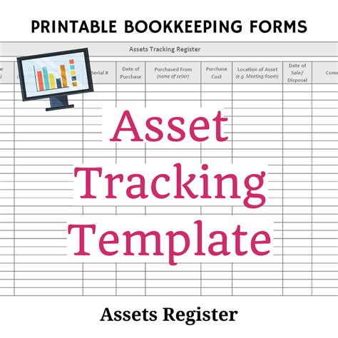 asset card template free bookkeeping forms and accounting templates